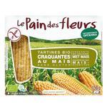 Хлібці Le Pain des Fleurs кукурудзяні органічні безглютенові 150г