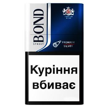 Сигареты Bond Street Premium Silver - купить, цены на СитиМаркет - фото 1