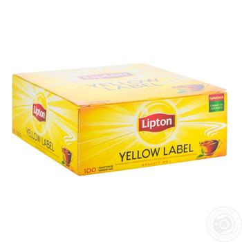 Lipton Yellow Label black tea 100*2g