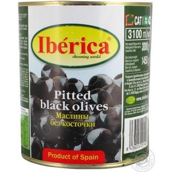 Маслины Iberica без косточки 3100мл