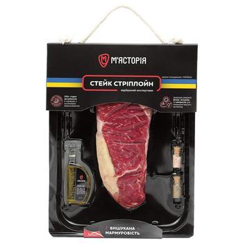 Myastoriya Chilled Beef Steak ~250g - buy, prices for CityMarket - photo 1
