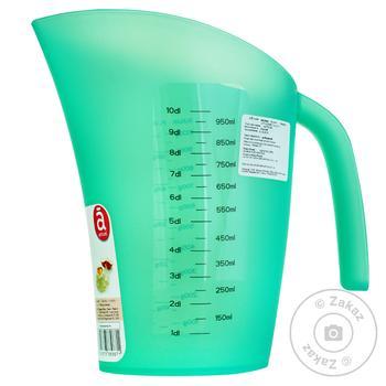 Мерный стакан Actuel в ассортименте 1л