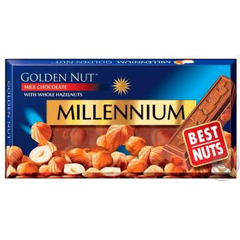 Millenium Gold Nuts Milk Chocolate