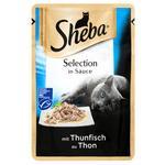 Корм Sheba Тунець влажный для кошек 85г