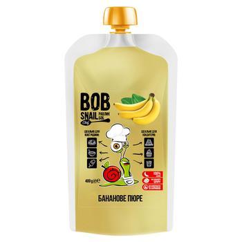 Snail Bob Banana Fruit Puree 400g - buy, prices for Novus - image 1