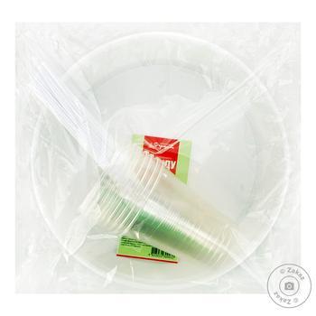 Набор одноразовой посуды Фуршет 10 персон - купить, цены на Фуршет - фото 1