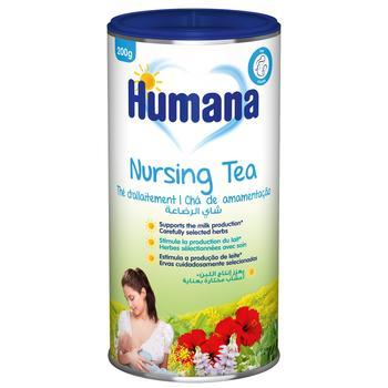 Чай Хумана для підвищення лактації розчинний 200г - купити, ціни на Ашан - фото 2