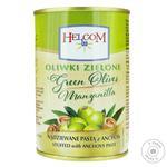 Оливки Helcom зеленые фаршированные анчоус 300мл