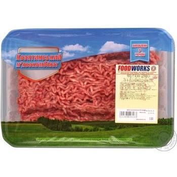 Фарш Food Works м'ясний домашній охолоджений