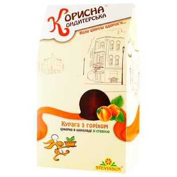 Korysna Kondyterska Dried Apricots with Nuts and Stevia Candy 150g - buy, prices for CityMarket - photo 1