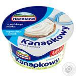 Крем-сир вершковий канапковий свіжий Hochland 130г