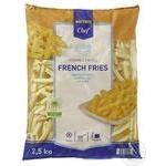 Картофель фри METRO Chef 9*9мм замороженный 2,5кг