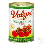 Valgri Cherry Tomatoes in Tomato Juice 400g