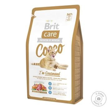 Brit Care Cocco Dry Food for Cats with Sensitive Digestion 2kg