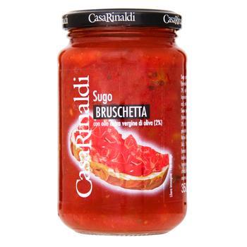 Соус томатный Casa Rinaldi для брускетти 350г - купить, цены на Novus - фото 1