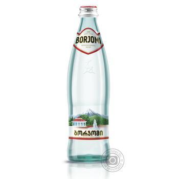 Вода Borjomi мінеральна сильногазована 0,5л - купити, ціни на Ашан - фото 1