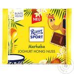 Шоколад Ritter Sport молочный йогурт мед и орехи 100г