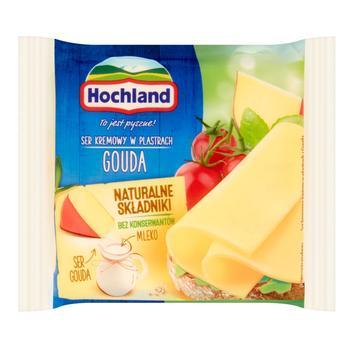 Сыр Хохланд Гауда плавленый ломтики 40% 130г