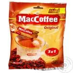MacCofee Mini 3in1 Original Instant Coffee Drink with Coffee Extract Stick Sachet 16pcs*12g