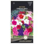 Семена Golden Garden Цветы Петуния Уникум смесь 0,2г