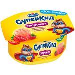 Savushkin SuperKid Strawberry-raspberry Plombir Curd Paste 3.5% 110g