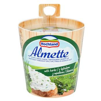 Hochland Almetta with herbs cream-cheese 150g