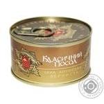Caviar Klassicheskii posol salmon red canned 130g