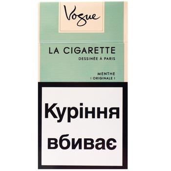 Vogue Ment Menthe cigarettes 20pcs