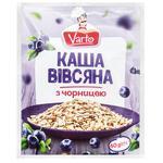 Каша Varto овсяная с черникой быстрого приготовления 40г