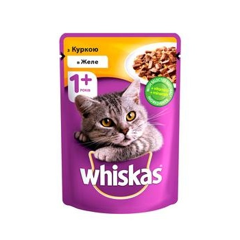 Whiskas With Chicken In Jelly For Adult Cats Food - buy, prices for Tavria V - image 1