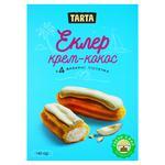 Пирожное Tarta Эклер крем-кокос 140г - купить, цены на Фуршет - фото 1