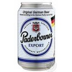 Beer Paderborner light 5.5% 330ml can