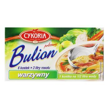 Бульон Cykoria овощной 6 кубиков 60г
