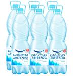 Karpat·sʹka Dzheralʹna Mineral water non-carbonated 2l