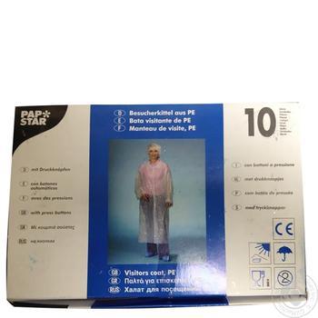 Халат Pap Star для відвідування 150Х125см - купити, ціни на Метро - фото 1