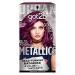 Крем-краска для волос Got2b Metallics M69 Аметистовый Хром 142.5мл