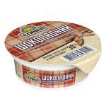 Slaviya Chocolate processed cheese spread sweet 30% 100g