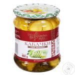 Ukrainska Zirka Pickled Sliced Zucchini 460г