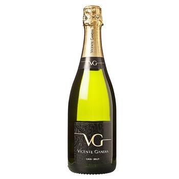 Vicente Gandia Cava Brut 11.5% White Sparkling Wine 0.75l - buy, prices for Auchan - photo 1