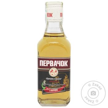 Pervak Pepper Tincture With Honey 40% 0.25l - buy, prices for Novus - image 1