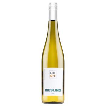 Вино Erben Oscar Haussmann Riesling белое полусладкое 9.5% 0.75л