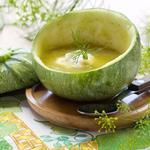Жареный кабачковый суп