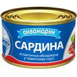 Сардина Аквамарин обжаренная в томатном соусе 230г