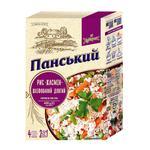 Рис Хуторок Панский жасмин длиннозерный шлифованный в пакетиках 400г