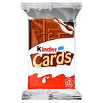 Печенье Kinder Cards 25,6г