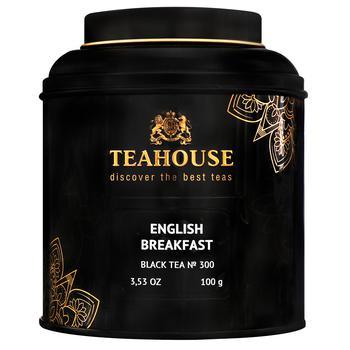 Чай Teahouse Английский завтрак черный листовой 100г