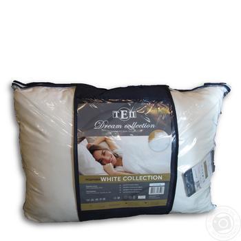 Подушка ТЭП White Collection 50X70см - купить, цены на Метро - фото 1