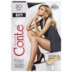 Колготки жіночі Conte City 20ден р.2 Nero