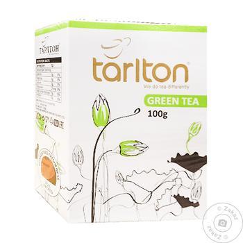 Чай Tarlton зелений 100г