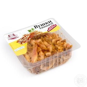 Baschinsky Pork Smoked Ears - buy, prices for Auchan - image 1